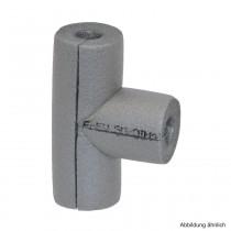 Isolier T-Stück aus PE-Weichschaum, RD 15mm / Isolierstärke 20mm