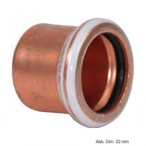 Geberit Mapress Kupfer Kappe, 18 mm