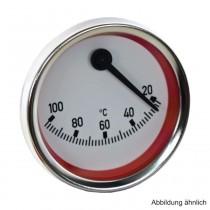 Kontakt-Thermometer exzentrisch, rot