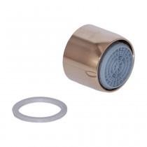 Neoperl Strahlregler mit Kalkschutz CASCADE-SLC 22x1 IG, edelmessing