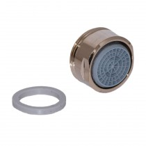 Neoperl Strahlregler mit Kalkschutz CASCADE-SLC 24x1 AG, edelmessing