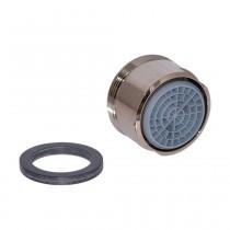 Neoperl Strahlregler mit Kalkschutz CASCADE-SLC 28x1 AG, edelmessing
