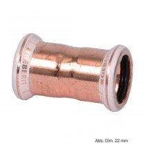 Geberit Mapress Kupfer Muffe, 28 mm