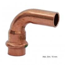 Viega Profipress Bogen Kupfer I-A 90°, Serie 2416.1, 12 mm