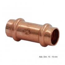Viega Profipress Muffe Kupfer, Serie 2415, 12 mm