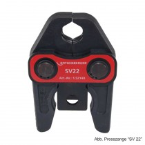 Rothenberger Pressbacke Standard System SV 22, 1.5214X