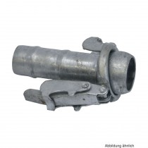 Schnellkupplung Stahl mit Schlauchtülle, Typ S77