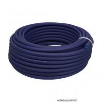 PVC Trinkwasserschlauch mit KTW A & W270 Zulassung,InnenØ 13mm,L.:50m,20bar,Blau