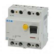 Eaton FI-Schalter PXF-25/4/05-A,  25A, 4polig, 500mA, Typ A, 236775