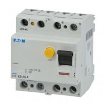 Eaton FI-Schalter PXF-63/4/05-A,  63A, 4polig, 500mA, Typ A, 236805