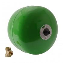 Reflex 'refix DD 18', 10 bar, durchströmt, grün