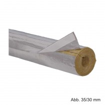 Rockwool Heizungsrohrschale 800, Länge 1000mm, Rohrdurchm. 70mm/Dämmstärke 40mm