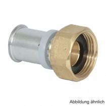 """Roth RIS Anschlussverschraubung 17 mm x 3/4"""" IG, Messing"""