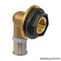 "Roth RIS Anschlusswinkel 17 mm x 1/2"" IG (3/4"" AG), Messing"