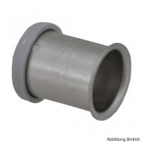 Roth RIS Edelstahl-Presshülse, 25 mm
