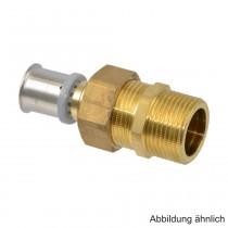 """Roth RIS Geräteverschraubung 25 mm x 1"""" AG, Messing"""