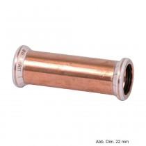 Geberit Mapress Kupfer Schiebemuffe, 15 mm