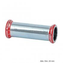 Geberit Mapress C-Stahl Schiebemuffe, 18 mm