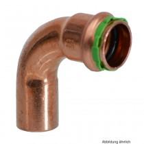 SEPPELFRICKE Sudo-Press Kupfer VC001A Bogen 90°, I/A, 18 mm