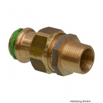 """SEPPELFRICKE Sudo-Press Kupfer/Rotguss Durchgangsverschr. AG, fld. 18mm x 3/4"""""""