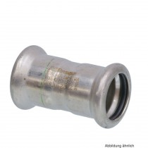 SEPPELFRICKE Edelstahl XPS270, Muffe I/I, 35 mm