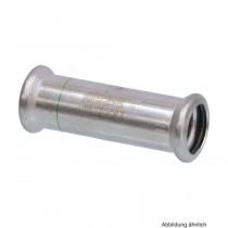 SEPPELFRICKE Edelstahl XPS270S, Schiebemuffe I/I mm, 18 mm