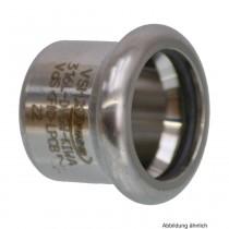SEPPELFRICKE Edelstahl XPS301, Verschlusskappe, 22 mm