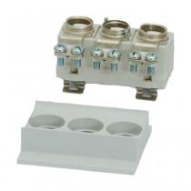 Siemens Neozed-Sicherungssockel 3-polig mit Abdeckung D02 63