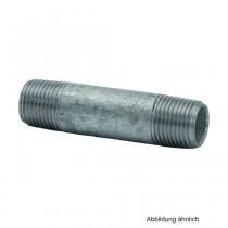 """Rohrdoppelnippel verzinkt, Nr. 23, 1 1/2"""" x 650 mm"""