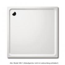 Kaldewei Duschwanne SUPERPLAN 387-1, 750x900x25mm, alpinweiss