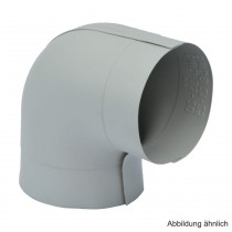 PVC-Ummantelungsfolie für PE-Bogen 90°,  für Bogen RD 18mm / Isolierstärke 26mm
