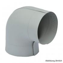 PVC-Ummantelungsfolie für PE-Bogen 90°,  für Bogen RD 35mm / Isolierstärke 20mm
