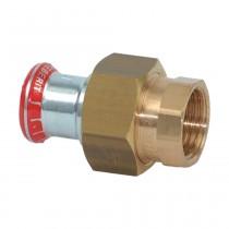 """Geberit Mapress C-Stahl Verschraubung m. IG flachdichtend, 42mm x 1 1/2"""""""
