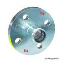 Viega Prestabo labs-frei. Modell 1159LF Flanschübergang. PN 10/16. 35 mm