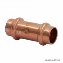 Viega Profipress Muffe Kupfer, Serie 2415, 15 mm