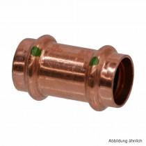 Viega Profipress Schiebemuffe Kupfer, Serie 2415.3, 15 mm