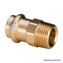 "Viega Profipress-S Übergangsstück Rotguss, Serie 4511.4, 22 mm - 1"""