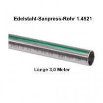 Viega Edelstahlrohr Sanpress nickelfrei 1.4521 in 3,0 m Stange, 35 x 1,5 mm