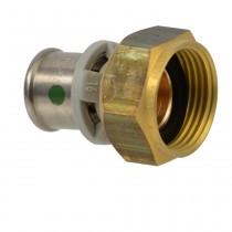"""Viega Sanfix P-Anschlussverschraubung flachdichtend, 16 mm x 3/4"""""""
