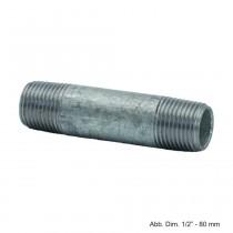 """Rohrdoppelnippel verzinkt, Nr. 23, 1 1/2"""" x 1700 mm"""