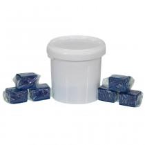 Wasserkastenwürfel, 17 Würfel, für Geberit-, Tece-, Grohe-Einwurfschächte