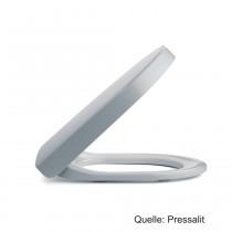 PRESSALIT P3 WC-Sitz mit Absenkautomatik und lift-off, Uni-Flex-Scharnier, weiß