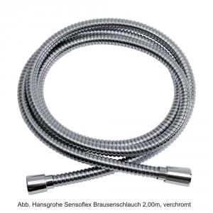 Hansgrohe Sensoflex Metall Brausenschlauch 1,60m, verchromt, 28136000