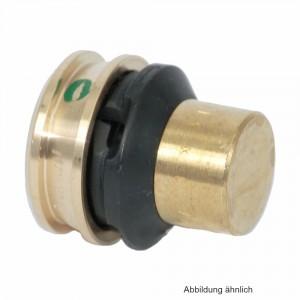 Viega Raxofix Verschlussstück mit SC-Contur aus Messing, 20 mm, Modell 5356