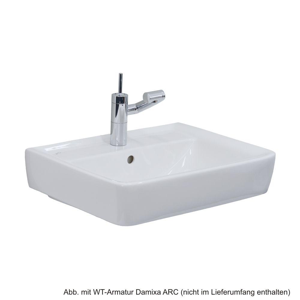 Keramag Waschtisch Renova Nr1 Plan 60x48cm Weiß Keratect
