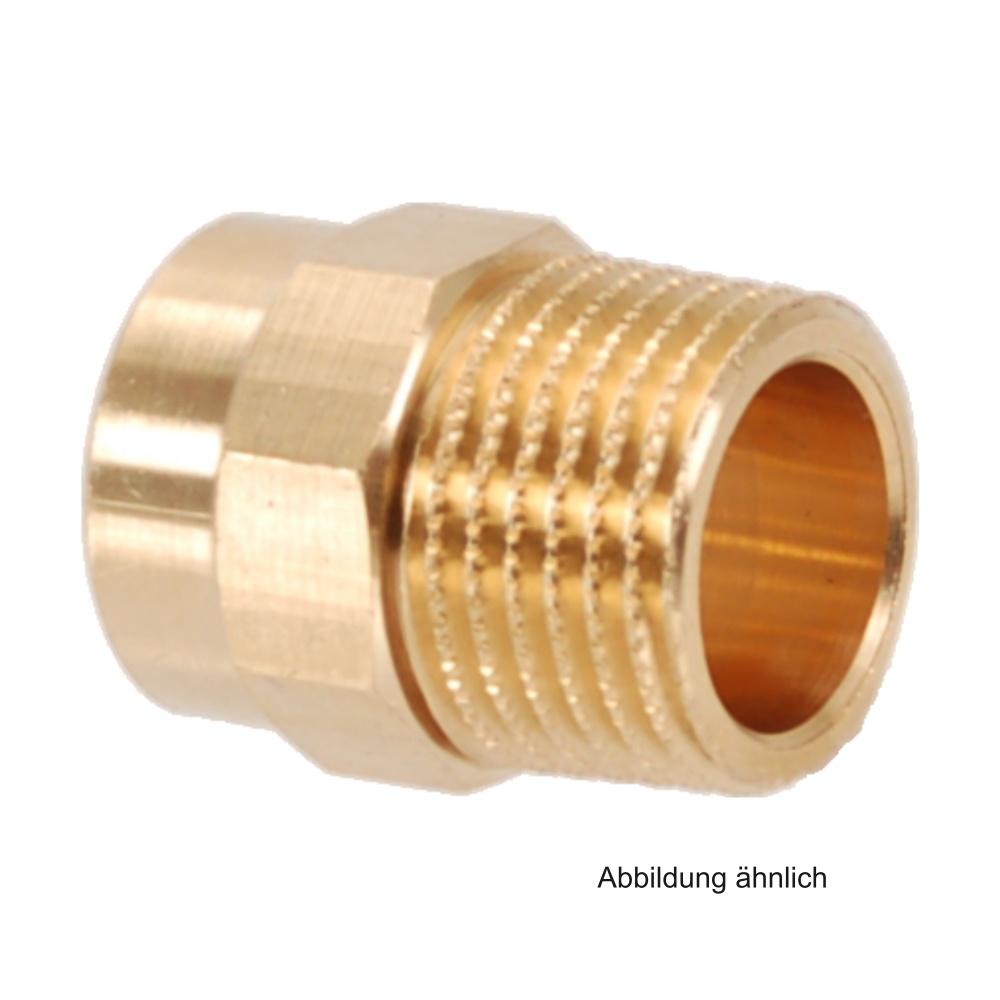 /Übergangsnippel 12 mm x 1//2 i//AG Rotguss L/ötfitting